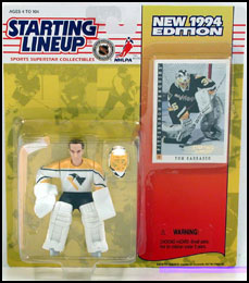 1994 Hockey Tom Barrasso Starting Lineup Picture