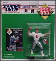 1995 Football Drew Bledsoe Starting Lineup Picture