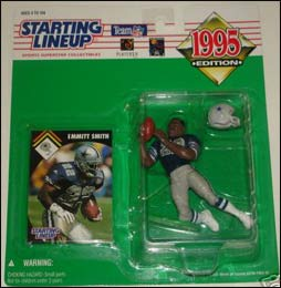 1995 Football Emmitt Smith Starting Lineup Picture