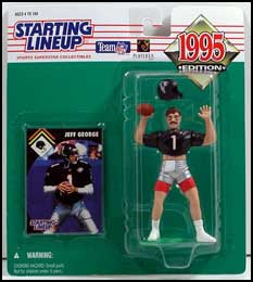1995 Football Jeff George Starting Lineup Picture