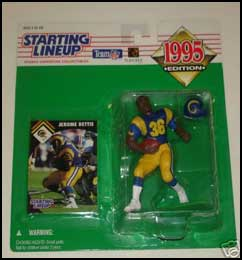 1995 Football Jerome Bettis Starting Lineup Picture