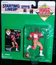 1995 Football Jerry Rice Starting Lineup Picture