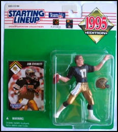 1995 Football Jim Everett Starting Lineup Picture
