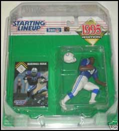 1995 Football Marshall Faulk Starting Lineup Picture