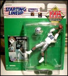 1995 Football Michael Irvin Starting Lineup Picture