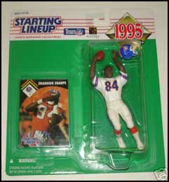 1995 Football Shannon Sharpe Starting Lineup Picture