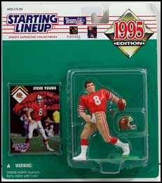 1995 Football Steve Young Starting Lineup Picture