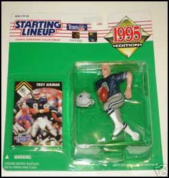 1995 Football Troy Aikman Starting Lineup Picture