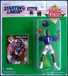 1995 Football Warren Moon Starting Lineup Picture