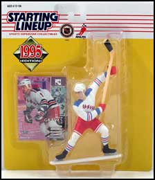 1995 Hockey Adam Graves Starting Lineup Picture