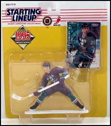1995 Hockey Bob Corkum Starting Lineup Picture