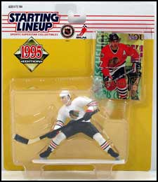 1995 Hockey Chris Chelios Starting Lineup Picture