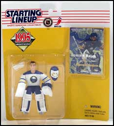 1995 Hockey Dominik Hasek Starting Lineup Picture