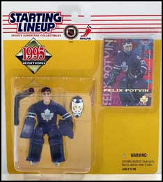 1995 Hockey Felix Potvin Starting Lineup Picture
