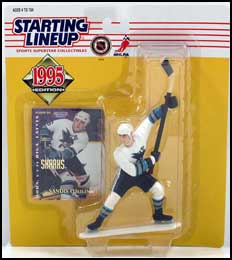 1995 Hockey Sandis Ozolinsh Starting Lineup Picture