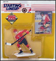1995 Hockey Theoren Fleury Starting Lineup Picture