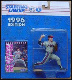 1996 Baseball Greg Maddux Starting Lineup Picture