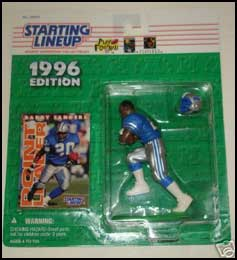 1996 Football Barry Sanders Starting Lineup Picture