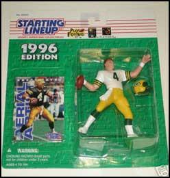 1996 Football Brett Favre Starting Lineup Picture