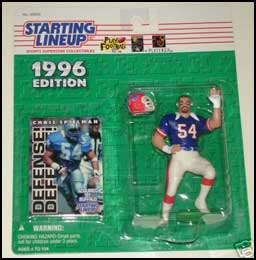 1996 Football Chris Spielman Starting Lineup Picture