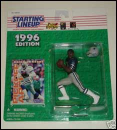 1996 Football Deion Sanders Starting Lineup Picture