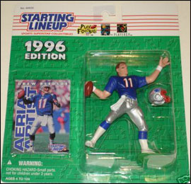 1996 Football Drew Bledsoe Starting Lineup Picture