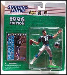 1996 Football Frank Reich Starting Lineup Picture