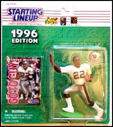 1996 Football Harvey Williams Starting Lineup Picture