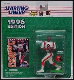 1996 Football Jeff Blake Starting Lineup Picture