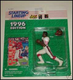1996 Football Jerry Rice Starting Lineup Picture
