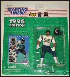 1996 Football Junior Seau Starting Lineup Picture
