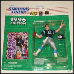 1996 Football Kerry Collins Starting Lineup Picture