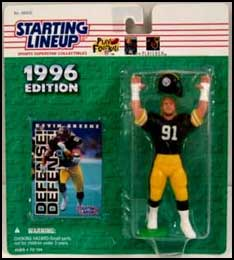 1996 Football Kevin Greene Starting Lineup Picture