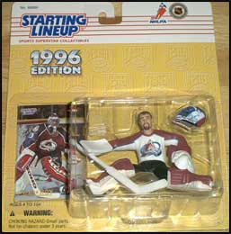1996 Hockey Patrick Roy Starting Lineup Picture