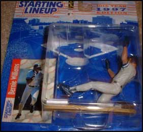 1997 Baseball Bernie Williams Starting Lineup Picture