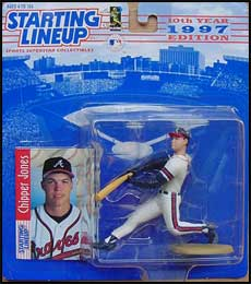1997 Baseball Chipper Jones Starting Lineup Picture