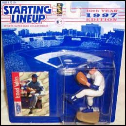 1997 Baseball Ismael Valdes Starting Lineup Picture