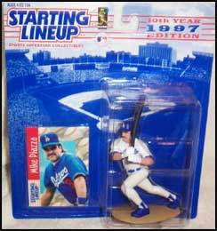 1997 Baseball Mike Piazza Starting Lineup Picture