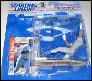 1997 Baseball Raul Mondesi Starting Lineup Picture