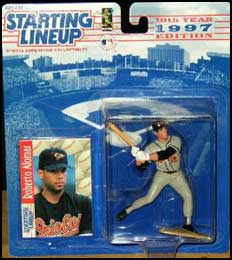 1997 Baseball Roberto Alomar Starting Lineup Picture