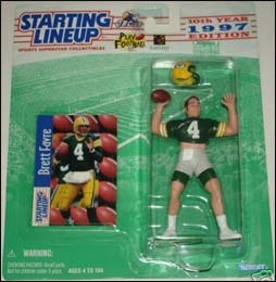 1997 Football Brett Favre Starting Lineup Picture