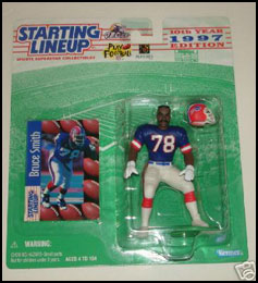 1997 Football Bruce Smith Starting Lineup Picture
