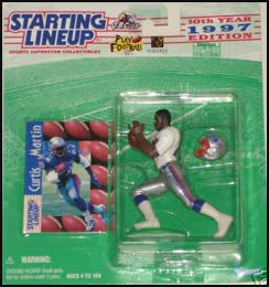 1997 Football Curtis Martin Starting Lineup Picture