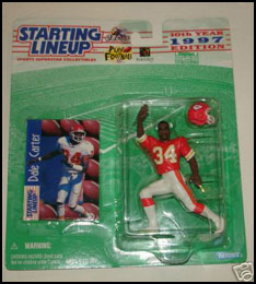 1997 Football Dale Carter Starting Lineup Picture
