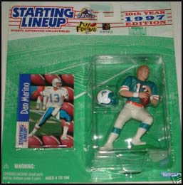 1997 Football Dan Marino Starting Lineup Picture