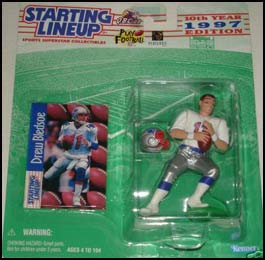 1997 Football Drew Bledsoe Starting Lineup Picture