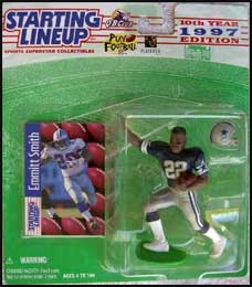 1997 Football Emmitt Smith Starting Lineup Picture