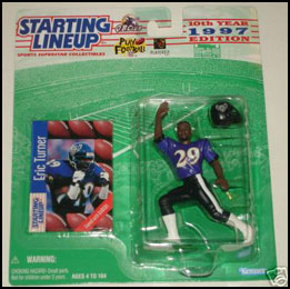 1997 Football Eric Turner Starting Lineup Picture