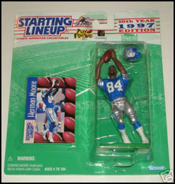 1997 Football Herman Moore Starting Lineup Picture