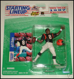 1997 Football Jeff Blake Starting Lineup Picture